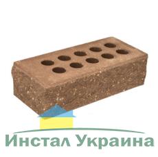 Кирпич Литос стандартный колотый тычковой с фаской шоколад