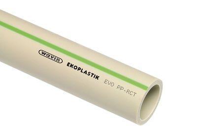 Полипропиленовая труба WAVIN Ekoplastik PN 20 50х8,3 цена