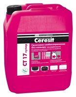 Ceresit СТ 17 СУПЕР Глубокопроникающая грунтовка бесцветная (канистра 5 л)