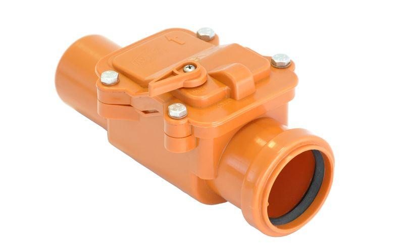 Мпласт Запорный клапан 160 для внутренней канализации
