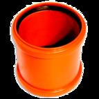 купить WAVIN EKOPLASTIK Муфта надвижная, класс N; 110 (3062662426) для наружной канализации