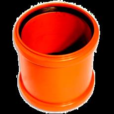 WAVIN EKOPLASTIK Муфта надвижная, класс S; 400 (3264504070) для наружной канализации