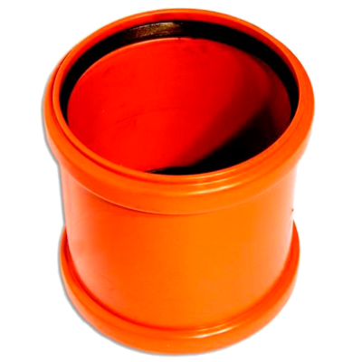 WAVIN EKOPLASTIK Муфта надвижная, класс N; 110 (3062662426) для наружной канализации цены