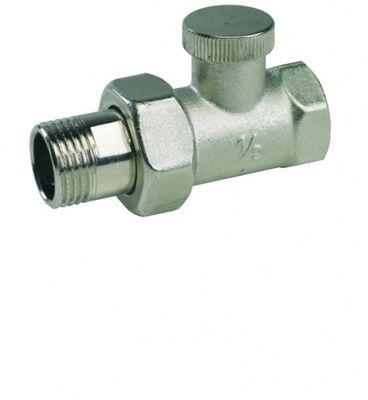 Кран радиаторный ARCO с нак. гайкой прямой п/ключ 07701 ВН 1/2` цена