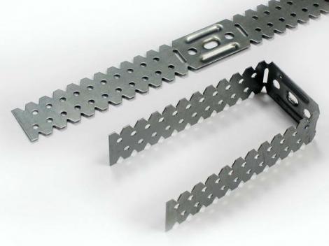 П-образный кронштейн 250 Супер, для крепления CD профиля к стене и потолку. Сталь 0,65