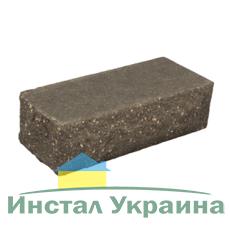 Кирпич Литос стандартный Скала тычковой полнотелый серый