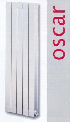 Радиатор алюминиевый Global OSKAR 2000x95