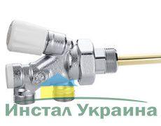 Caleffi Кран-термостат нижнего подключения 1/2`
