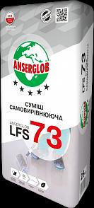 Anserglob LFS-73 Самовыравнивающийся пол цементно-гипсовый 5-80 мм