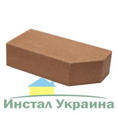 Кирпич Литос стандартный угловой полнотелый красный