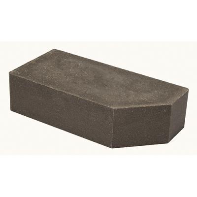 Кирпич Литос стандартный угловой полнотелый серый цена