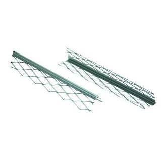 Угол для мокрой штукатурки оцинк., 0,5 БЕЛЫЙ окрашенный