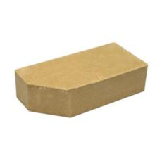 Кирпич Литос стандартный угловой полнотелый желтый