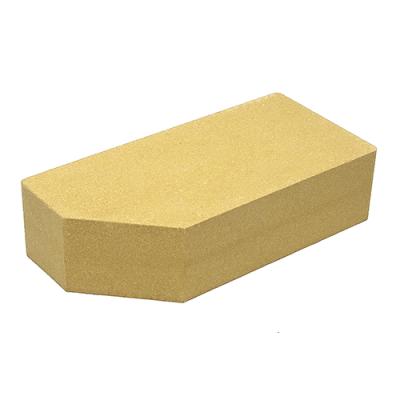 Кирпич Литос стандартный угловой полнотелый слоновая кость цены