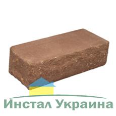 Кирпич Литос стандартный Скала тычковой полнотелый бордо