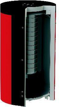 Теплоаккумулирующая емкость NEQ EAB-00-X/Y-1000/160 цена