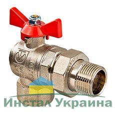 VT.228 Шаровой кран (американка) Valtec угловой ВН 1/2 (8/96)