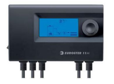 Euroster 11M Термоконтр. управл. смес.клапаном, система Антистоп, ЖК экран, 2 датчика темп.  цена