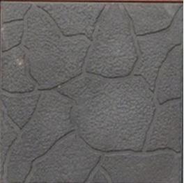 Тротуарная плитка Плита 300х300 (черный) для пешеходной зоны (4 см)