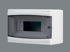 Щиток пластиковый на 9 модулей с ддверцей(внешний) BR 806