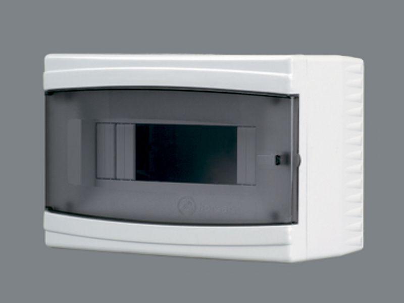 Щиток пластиковый на 2-6 модулей (внешний) BR 804
