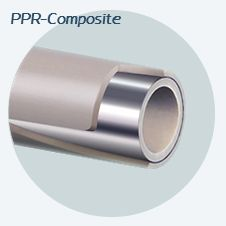 Полипропиленовая труба Rozma PPR / Al / PPR STABI ITAL(композит) без зачистная 110х15,1