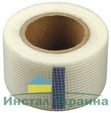 Бандажный рулон лента клейкая для заделки швов и трещин 20м*10см