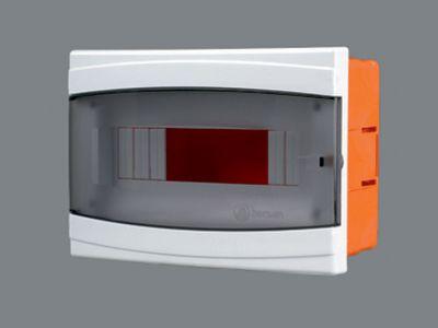 Щиток пластиковый на 12 модулей с дверцей (внутренний) BR 807 цена