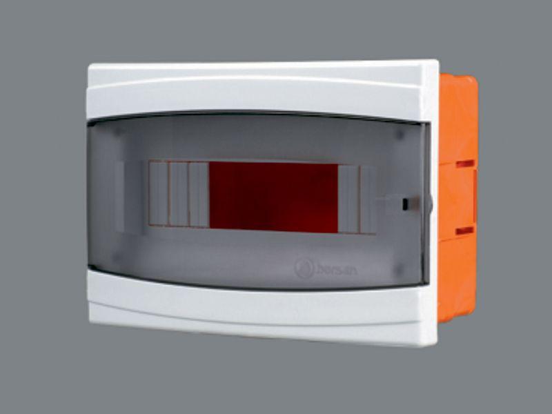 Щиток пластиковый на 12 модулей с дверцей (внутренний) BR 807