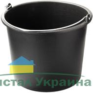 Ведро строительное круглое пластмасовое мерное 20л
