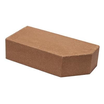 Кирпич Литос стандартный угловой полнотелый бордо цены