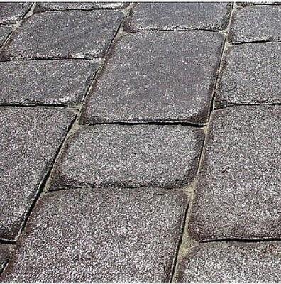 Тротуарная плитка Старая площадь 300х300 (черный) для пешеходной зоны (4 см) цена