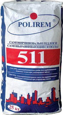 """Polirem 511 """"Экстра"""" (армированная) самовыравнивающийся пол, слой 2-10 мм"""