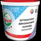 купить Anserlob Акриловая белая декоративная штукатурка короед зерно 2,5 мм.