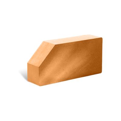 Кирпич Литос стандартный угловой полнотелый терракот цены