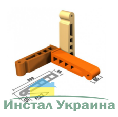 Кирпич облицовочный СБК ВФГ-23 коричневый