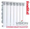 Радиатор алюминиевый Fondital VISION (3/4 '') 500/80 цена