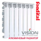 купить Радиатор алюминиевый Fondital VISION (3/4 '') 500/100