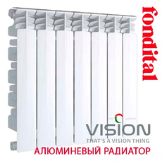 Радиатор алюминиевый Fondital VISION (3/4 '') 500/100
