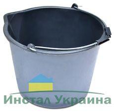 Ведро строительное с носиком  12 л (04-408)
