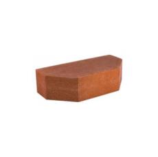 Кирпич Литос стандартный 2-х угловой полнотелый красный
