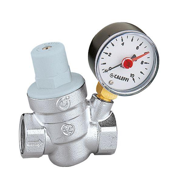 533251 Caleffi редуктор снижения давления 3/4'' с манометром