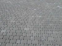 Тротуарная плитка Старый город (серый) (6 см)