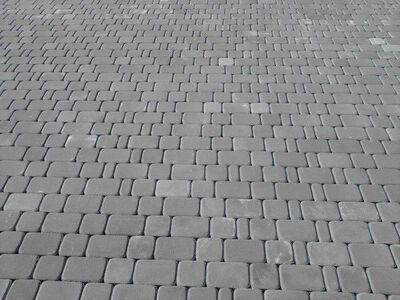 Тротуарная плитка Старый город (серый) (6 см) цена