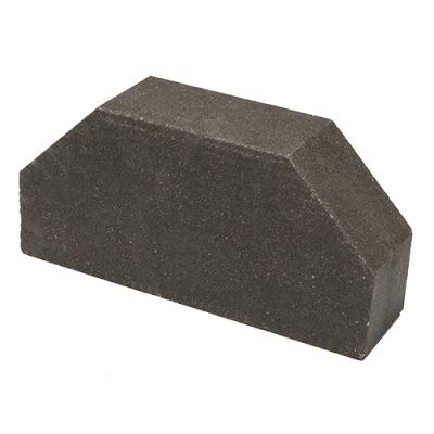 Кирпич Литос стандартный 2-х угловой полнотелый серый