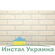 Клинкерный кирпич половинка Керамейя Рустика Жемчуг 4