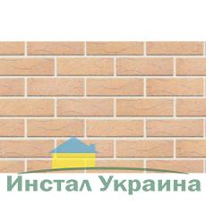 Клинкерный кирпич половинка Керамейя Рустика Янтарь 32