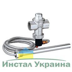 543513 Caleffi Сбросной клапан тепловой безопасности для генераторов на твердом топливе. Соединения ВР - ВР