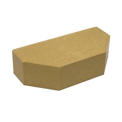 Кирпич Литос стандартный 2-х угловой полнотелый желтый цена