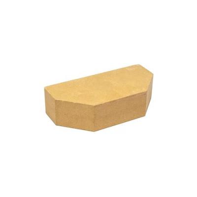 Кирпич Литос стандартный 2-х угловой полнотелый слоновая кость